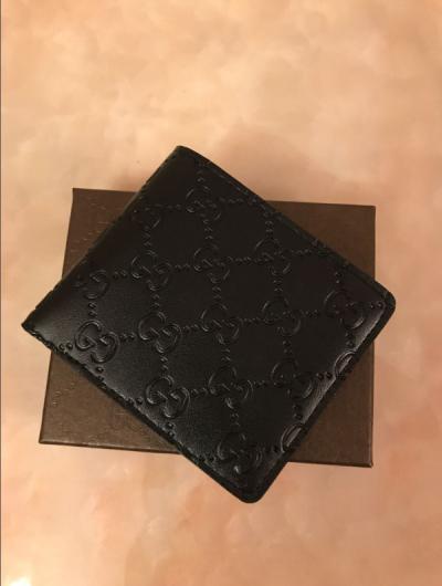 2019 homens marca Hot curto carteira, moda bolsa de retalhos masculino clássico com suporte de cartão porta-moedas com caixa de presente m1