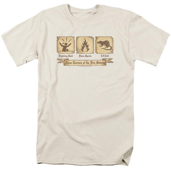 Принцесса невеста фильм Три ужаса лицензированных взрослых футболки всех размеров Мужчины Женщины унисекс мода футболка Бесплатная доставка