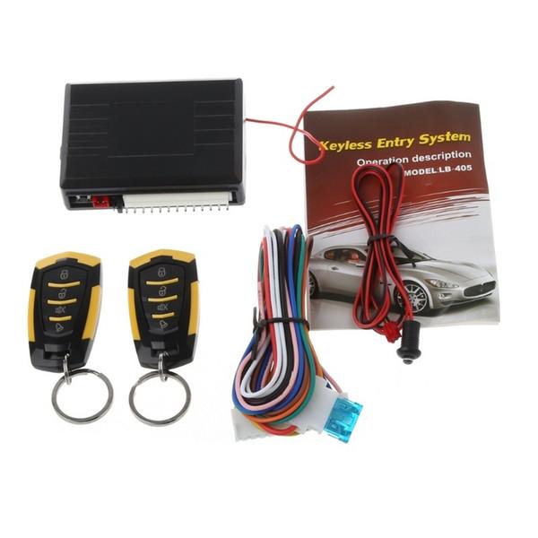 12V Car Auto Alarm Remote Central Door Locking Vehicle Keyless Entry System Kit Car Styling