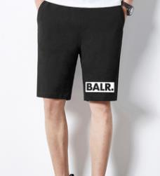 BALR. Mens Shorts Fashion 1 Brand Designer Casual Shorts Half Knee Length Beach Shorts