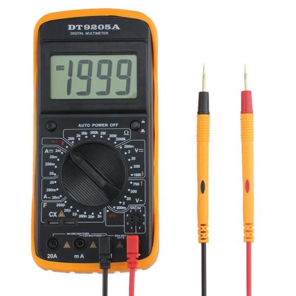 AC/DC LCD Display Multimeter Multimetro Voltage Current Tester Professional Portable Digital Electric Handheld Waterproof Tester
