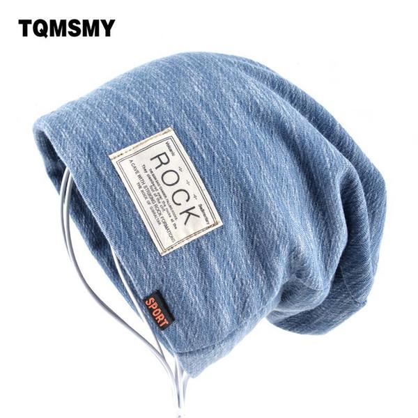 Autumn Hip Hop Cap Winter Beanies Men Hats Rock Logo Casual Cap Turban Hat Bonnet Plus Velvet Caps For Men Beanie