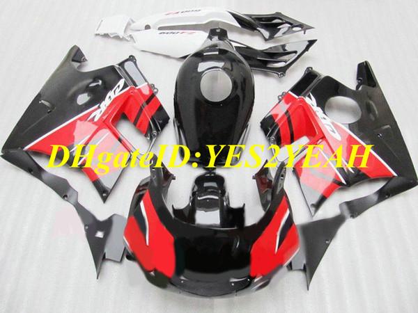 Motorcycle Fairing kit for Honda CBR600F2 91 92 93 94 CBR600 F2 1991 1992 1994 ABS Hot Red black Fairings set+Gifts HG12