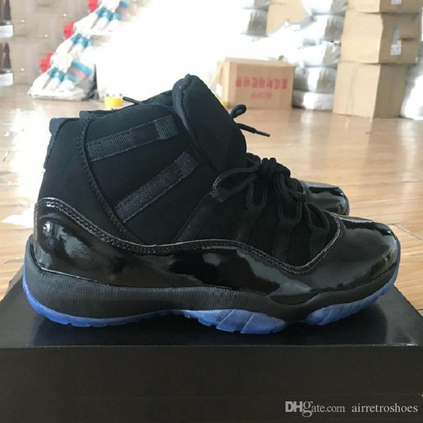 Out Newest Xi 11 Black Prom Night 11s Men Basketball Shoes Mens Athletic Sport Trainer 378037-005 Sneakers Size Eur 41-47