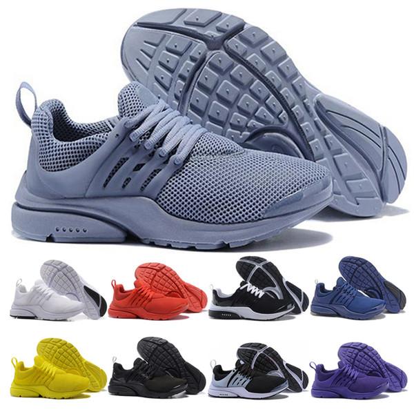 nike air presto Scarpe da corsa di qualità migliore Prestos 5 V per uomo Donna Triple bianco Ultra BR QS Giallo Nero Grigio Sport all'aria aperta Sneakers da jogging