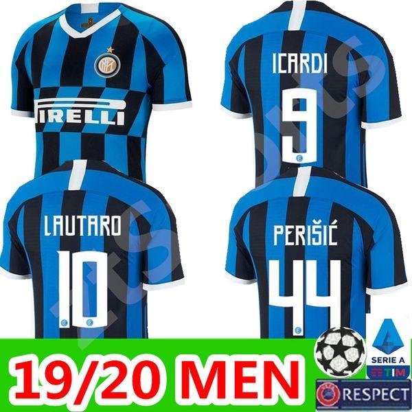 2019 2020 ICARDI LAUTARO Martinez Inter Mailand Fußball Trikot PERISIC NAINGGOLAN POLITANO Meisterliga Trikot 19 20 Fußballtrikot