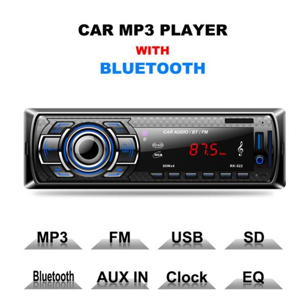 Uzaktan Kumanda ile 12V Araba Stereo Bluetooth Kablosuz Dijital Medya Dash Alıcıları olarak USB / SD / MMC MP3 Çalar FM Radyo
