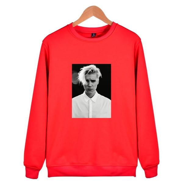 2019 Fashion Justin Bieber Sweatshirt Men/women New Style Capless Hoodies Men/women Kpop For Winter And Autummn For Clothes