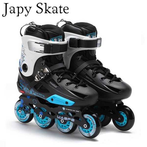 Japy Skate Flying Eagle F3 Inline Skates Falcon Professional Adult Roller Skating Shoes Slalom Sliding Free Skating Good As