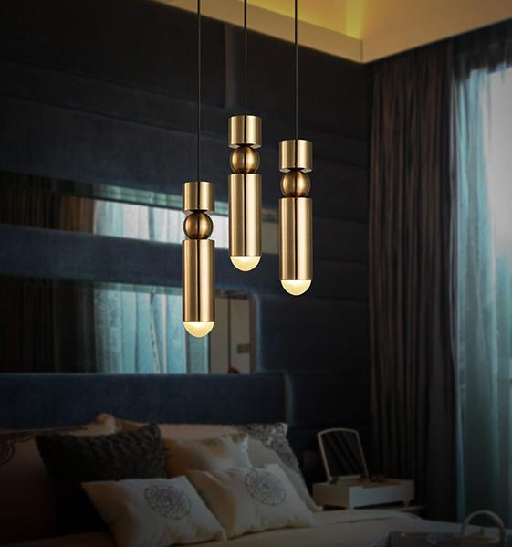 Großhandel Moderne Led Pendelleuchte Für Bar Küche Gold Metall Leuchte  Einzigen Kopf Für Wohnzimmer Dekorative Hängelampe Esszimmer Von Qinqin342,  ...