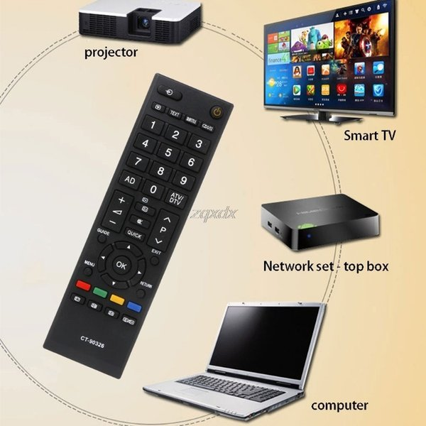 New TV Fernbedienung Ersetzen für Toshiba CT-90326 CT-90380 CT-90336 CT-90351