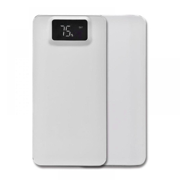 Display 1A LCD Power Portable USB Bank Power Digital Polymer 2 Light 1A Battery Dual 5V1A With 2 Lithium Mobile Mini