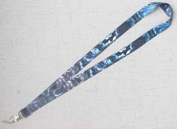 Batman Style Lanyard Fashion Neck Lanyard Strap Anti-lost Broadband Wrist Lanyard Rope For Keys ID Card Holder Phone Camera Key