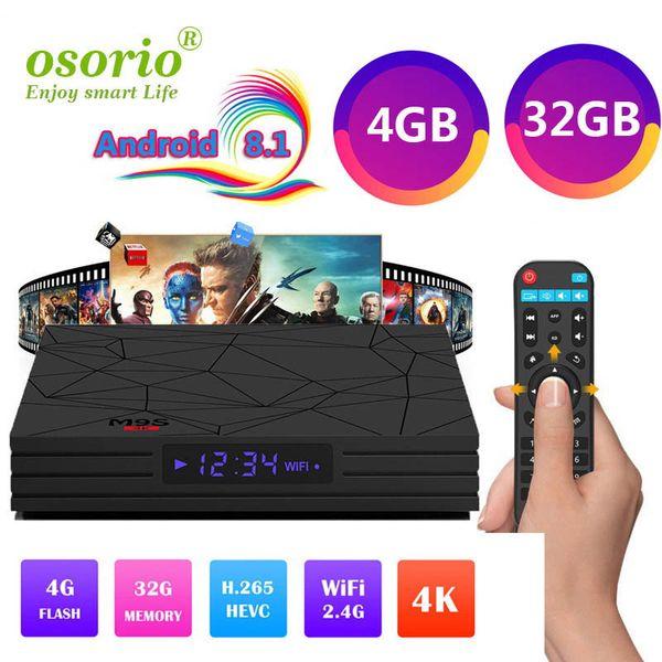 2019 Android 8.1 TV Box Rockchip RK3328 4GB 32GB with Google Play Store Netflix Youtube M9S Y2 Smart IPTV BOX USB3.0 4K media player