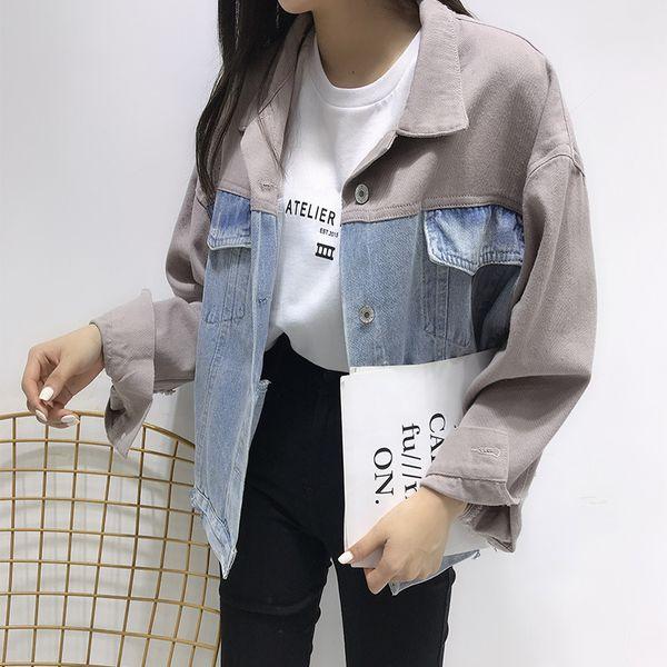 2019 Frühling Freizeitjacke Großhandel Streetwear Outwear Frauen Herbst Lose Strickjacke Und Langarm Mantel Damen Tasche Jacken Mäntel Von Aimea UMqSzVp