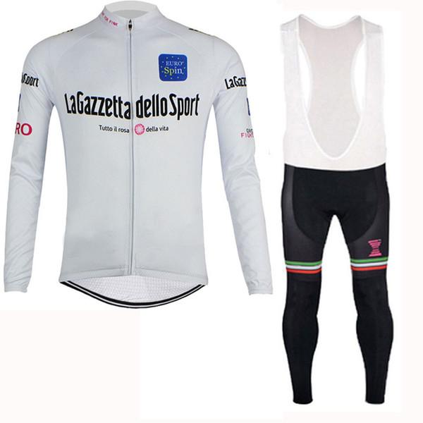 TOUR DE ITALY STRAVA team Велоспорт с длинными рукавами, трикотаж Велоспорт Одежда для сезона осень-весна с длинными топами MTB Bike Clothio комплекты