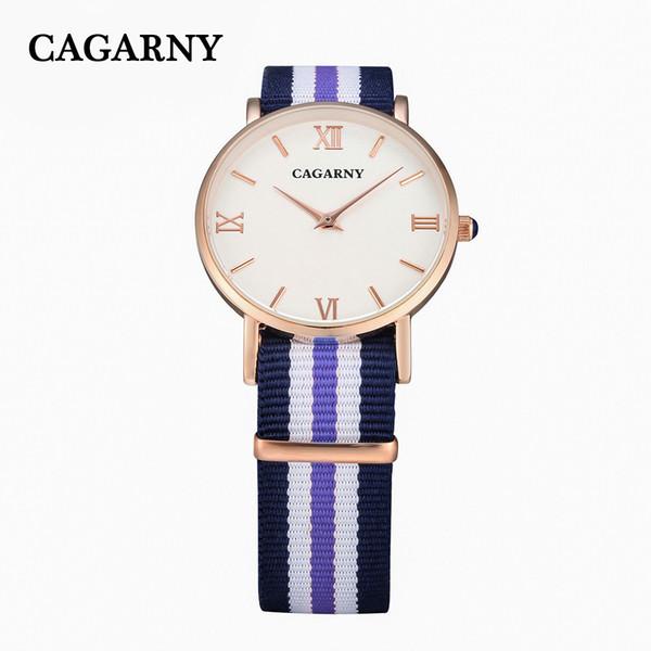 CAGARNY Herrenuhren Brand Design Big Dial Lederband Armbanduhr Military Sportuhr Heißer Verkauf Outdoor Männlichen Quarzuhren