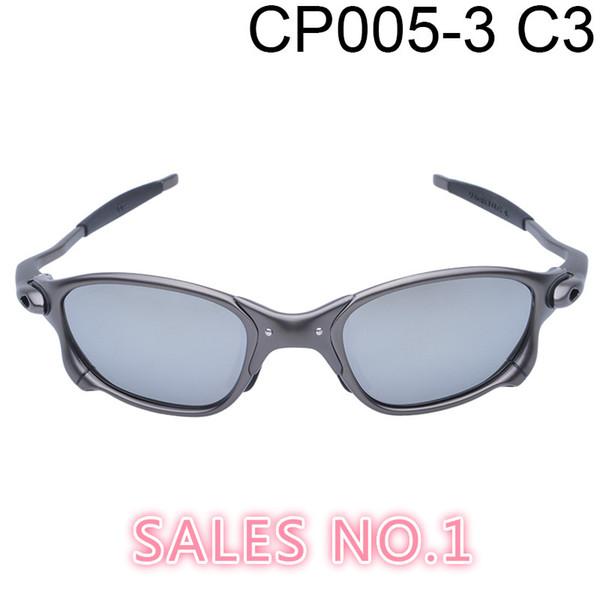 Atacado-Original Men Romeo Ciclismo Óculos Polarizados Aolly Juliet X Metal Riding Sunglasses Goggles Brand Designer Oculos CP005-3