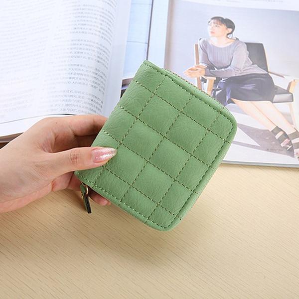 Fashion Women Leather Bifold Wallet Zipper Clutch Card Holder Purse Lady Handbag