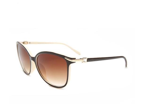 Tasarımcı Güneş Gözlüğü Marka Gözlük Açık Shades PC Farme Moda Klasik Bayanlar lüks Sung40 Aynalar Women4061 için
