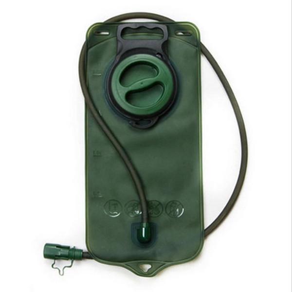 Açık dağcılık hidrasyon paketleri 2L ile tpu çevre içme suyu torbası meme seti sürme spor su torbası LJJZ421
