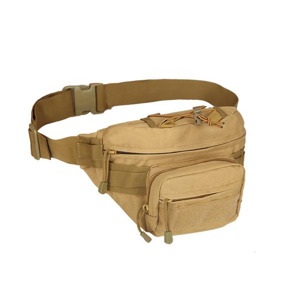 Açık Tırmanma Messenger Omuz Bel Çantası Kamp Çantası Koşu Koşu Seyahat Çantası Molle Assault Paketi Sling Bel # 159090