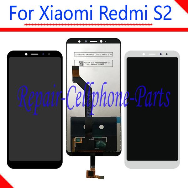 5,99-дюймовый полный ЖК-дисплей + сенсорный экран дигитайзер в сборе Запасные части для Xiaomi Redmi Y2 M1803E6I / Redmi S2 M1803E6C