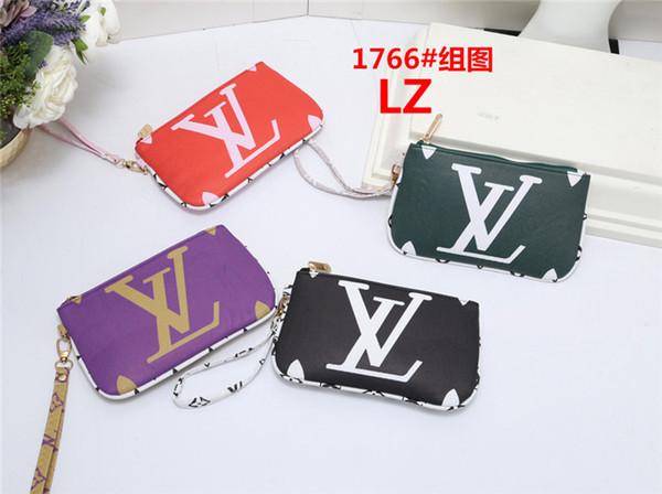 Hochwertige Modemarke Frauen entwerfen LOUIS-Ledergeldbörsenunisexkupplungs-Kartenhaltergeldbeutel H17661