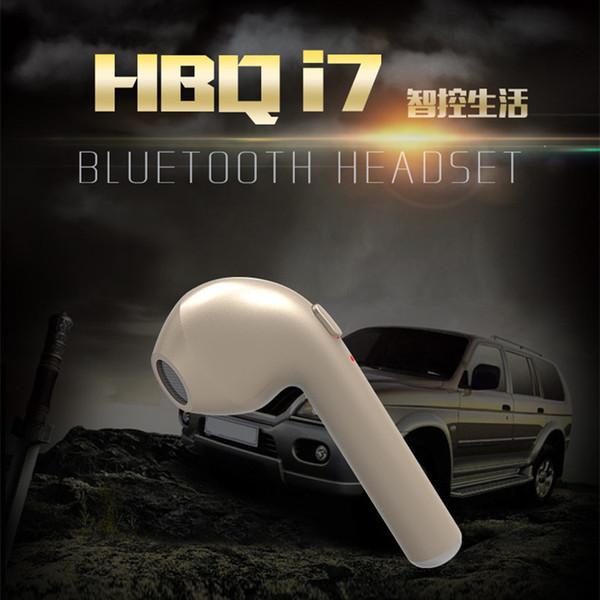 einzelnes HBQ I7 TWS Zwillinge Mini Bluetooth Ohrhörer Wireless Invisible Kopfhörer Headset mit Mic Stereo V4.1 Kopfhörer für Iphone Android DHL