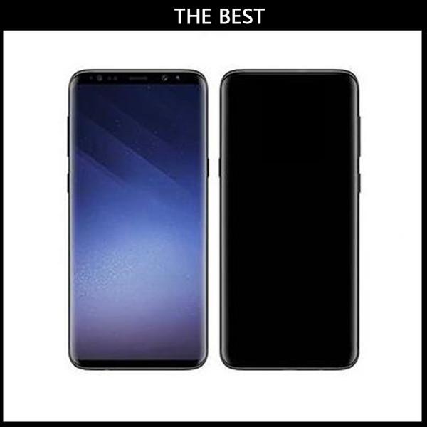 Best Goophone 9 Plus Real 3G Lte Face ID Fingerprint Iris 6.2inch Screen Octa Core 1920x1080 2G Ram 32G Rom Unlocked Smartphones