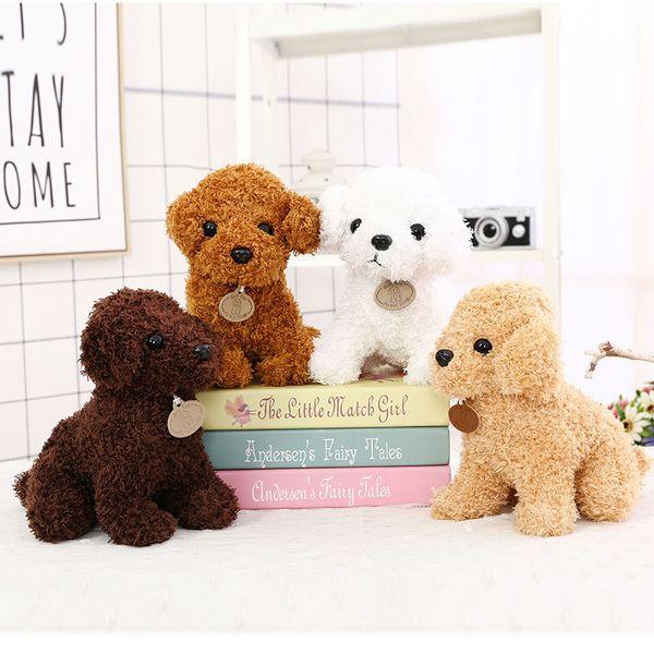 La dernière marque Teddy chien jouets en peluche promener le chien 9,5 pouces mignon nounours décoration bande dessinée doux réseau populaire peluches