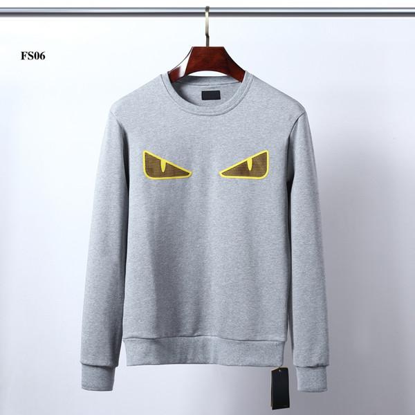 Бренд Мужские толстовки толстовки с фирменными буквами роскошный дизайнер Толстовка для мужчин с длинным рукавом пуловер пальто одежда M-2XL