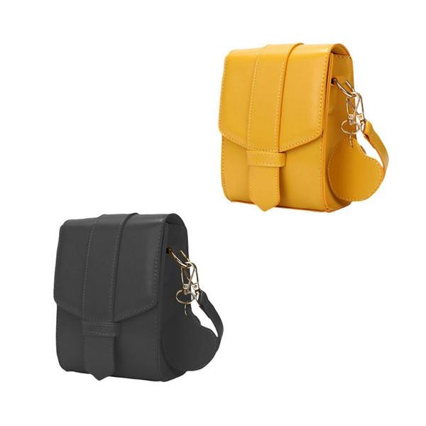 Women PU Leather Mobile Phone Bag Pouch Crossbody Purse Wallet Mini Shoulder Bag