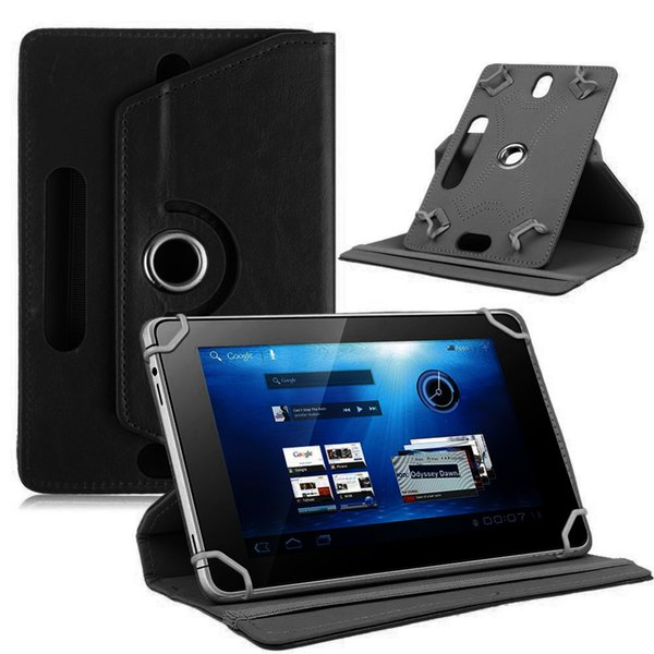 Yeni Tablet Kılıf 360 Döndür Deri Koruyucu Evrensel Tablet PC Durumda 7 Için Kılıf Kapak Standı 7