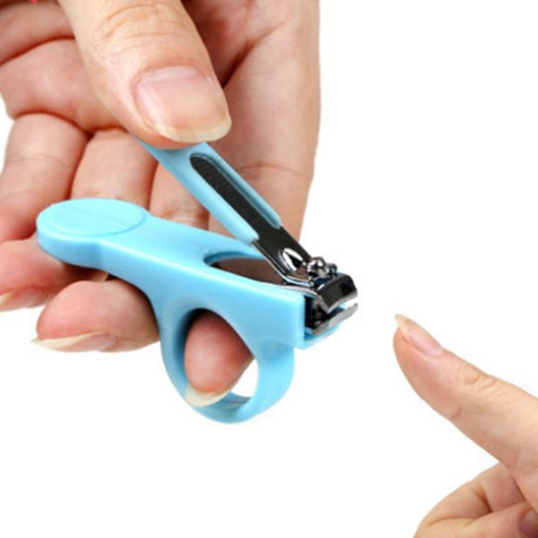 2pic / set Prático Bebê Criança Prego Clippers Tesoura Mini Cuidados Com As Unhas Conveniente Cuidados Diários Do Bebê Prego Ferramenta de Cuidados Shell Shear Manicure Set