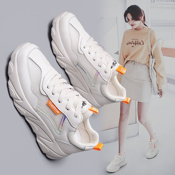 Summer WOMEN'S Thick Bottomed INS Dad Casual Sports Shoes Network Board Shoes Shoes Summer WOMEN'S Shoes Thick Bottomed INS Dad Shoes Casual Sports Shoes Network Board Shoes Shoes