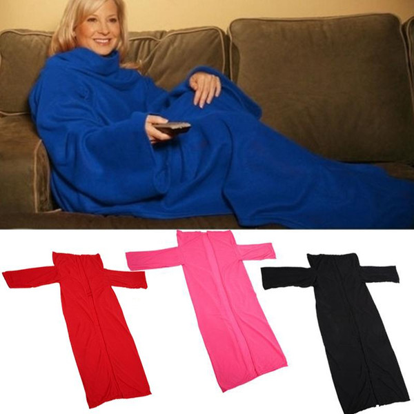 Tv Fleece Deken.Soft Sleeves Blanket Sofa Quilt Fleece Deken Throw Blankets For Beds Home Bed Tv Coral Fleece Throw Bright Pink Throw Blanket Throw Blankets Online