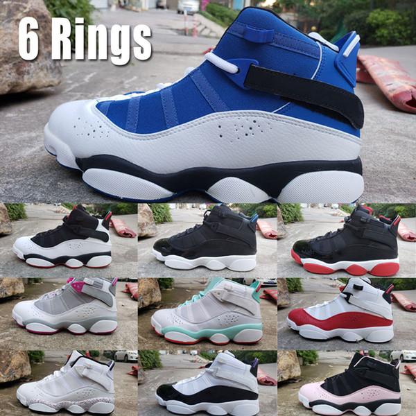 6 nbspkings баскетбол обувь для мужчин jumpmen 6s nbspconftetti гс nbsppaint плескаться nbspbred кроссовки ретро США размер 7-12