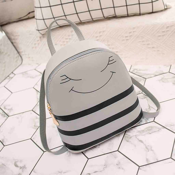 xiniu Girl Headphones Hole Small Backpack Crossbody ShouldeHole Backpack Slung Shoulder Bags Mobile Phone Purse #4