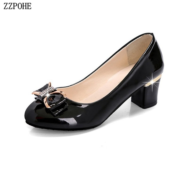 Designer Dress Shoes 2019 New Fashion Women Pumps Women Thin High Heels Dress Lady Sexy Wedding femminile Black lavoro