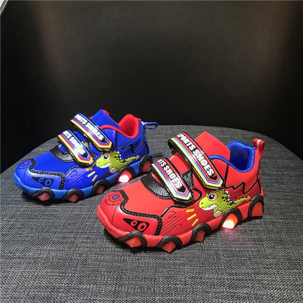 Children Shoes Mesh Cute Fashion Athletic Outdoor Kids Shoes LED Leisure Baby Girls Boys Shoes Footwear Unisex