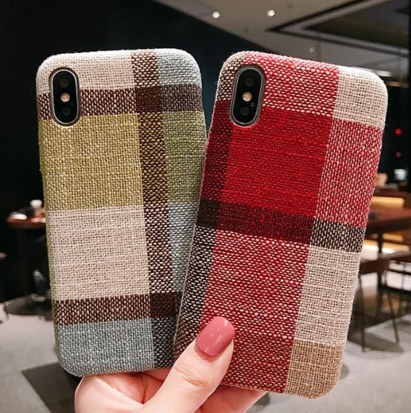 Cassa del telefono cellulare di tendenza di caso della cassa del telefono cellulare della grata Vendita all'ingrosso di caso di concisione di caso di iPhone per XR XS di iphone
