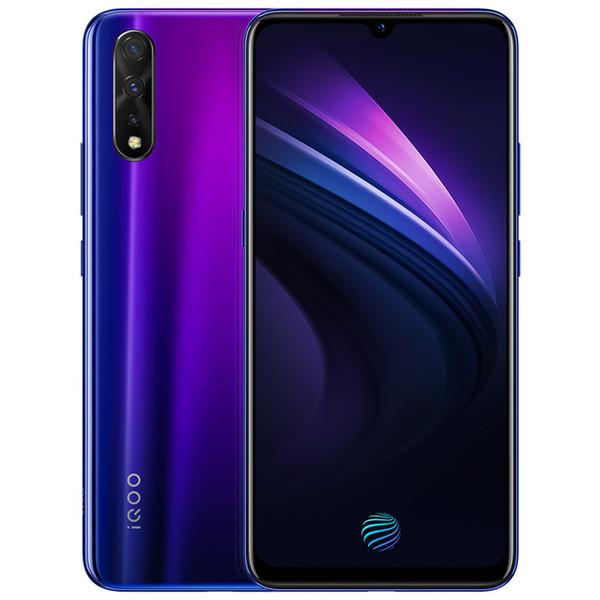 Оригинал прижизненного iQOO Нео сети 4G LTE сотового телефона 6ГБ оперативной памяти 64 ГБ 128 Гб ROM восьмиядерный процессор Snapdragon 845 6.38