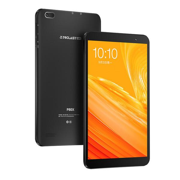 Orijinal Teclast P80X 4G LTE Tablet PC 8 Inç Spreadtrum SC9863A Sekiz Çekirdekli Android 9.0 2 GB RAM 16 GB GPS 2.0MP Çift Kamera 1280x800 IPS