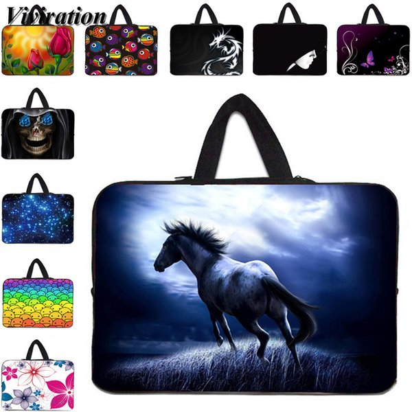 Viviration 12.9 17 15 14 13 12 Inch Notebook Bag Zipper Sleeve Boys Girls Tablet PC Bag 10 10.1 9.6 9.7 10.5 Inch Laptop Case
