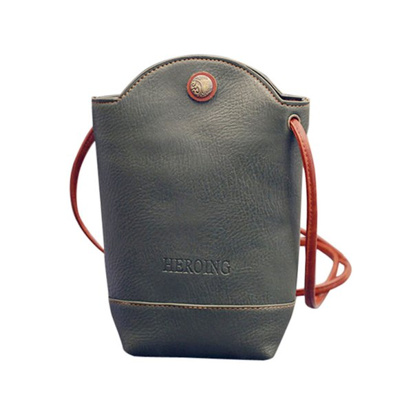 Cheap Women Phone Leather Shoulder Bag Women Messenger Bags Slim Crossbody Handbag Small Body Bags 2017 Fashion Bag Lady Attractive