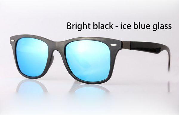 azul hielo negro brillante