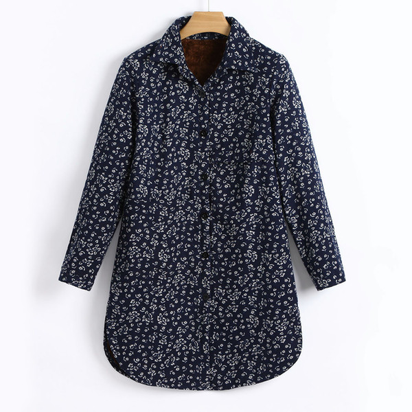 Winter Herbst Jacke Frauen Baumwolle Leinen Winter Warm Plus Samt Mantel Folk-Custom Print Outcoat Jacke Oberbekleidung Mit Kapuze Jacken