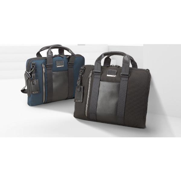 Neue Version Gute Qualität Heißer Verkauf T U M Ich Alpha Bravo 232390D Nylon Männer Business Handtasche Computer Tasche Aktentasche Wie TUMI Freies Verschiffen