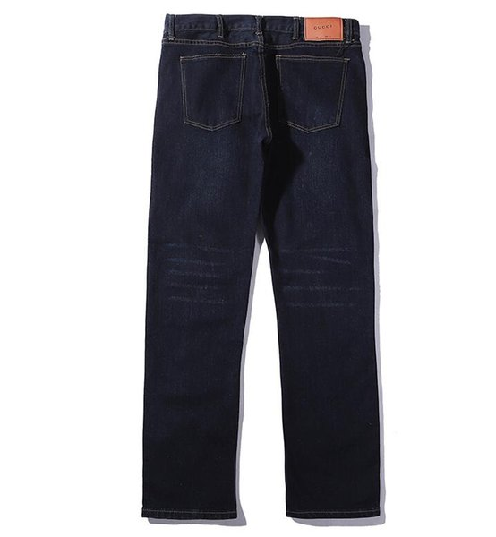 CUCC Jeans New Fashion Mens Simple Summer Lightweight Jeans Mens Large Size Fashion Casual Solid Classic Straight Denim Designer Jeans